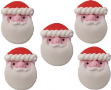 Father Christmas Sugar Decorations